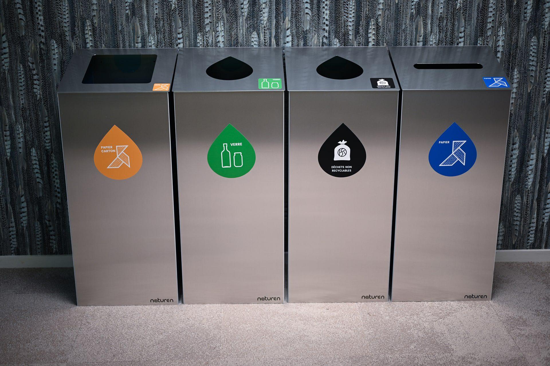 Tri Uno: Design sorting bin for business
